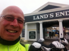 Tiger on the Loose - Brian Phillips at Land's End